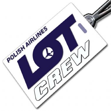 LOT Polish Airlines - Crew Tag